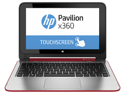 HP Pavilion 11 x360 Red
